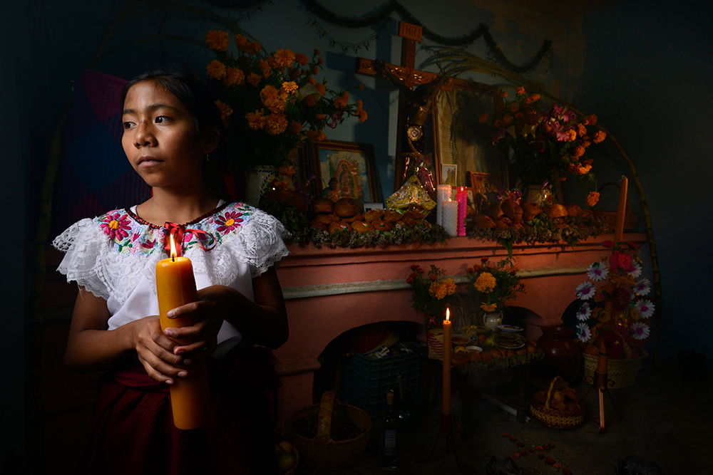 Day of the dead in Oaxaca
